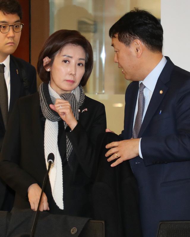 나경원 '靑, 5·18조사위원 한국당 추천인 거부는 정치적 판단'