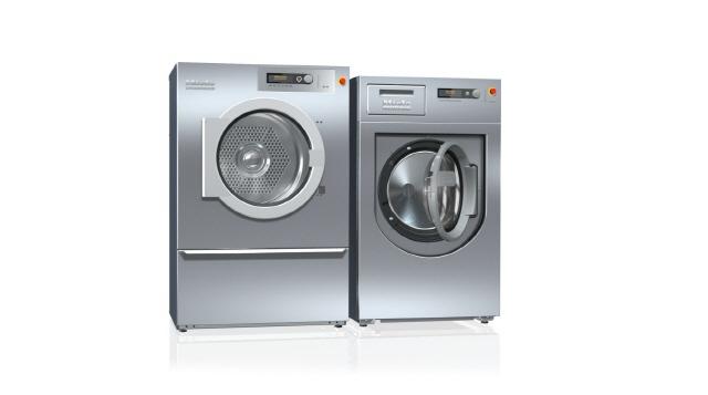 밀레, 삼성·LG 안방 도전장…상업용 세탁기·건조기 출시