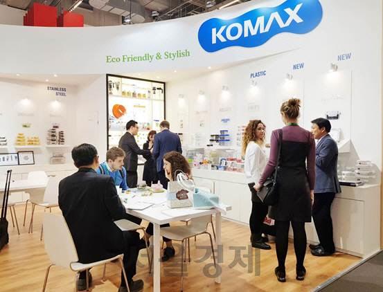 코멕스산업, '2019 독일 암비엔테' 참가로 유럽시장 입지 강화