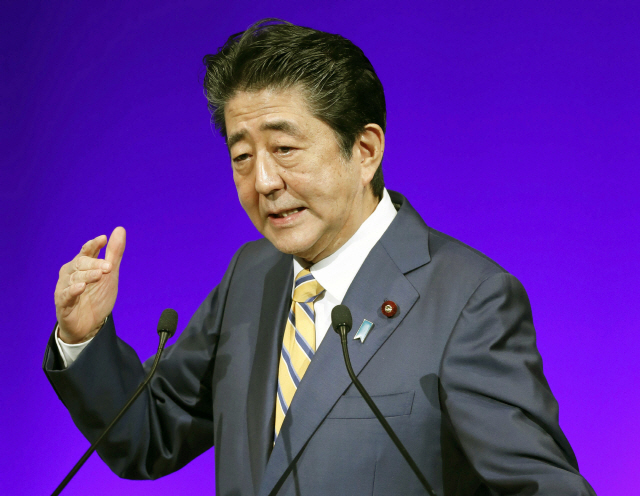 아베 ''일본해'가 국제사회 유일한 호칭…변경할 필요 없어'