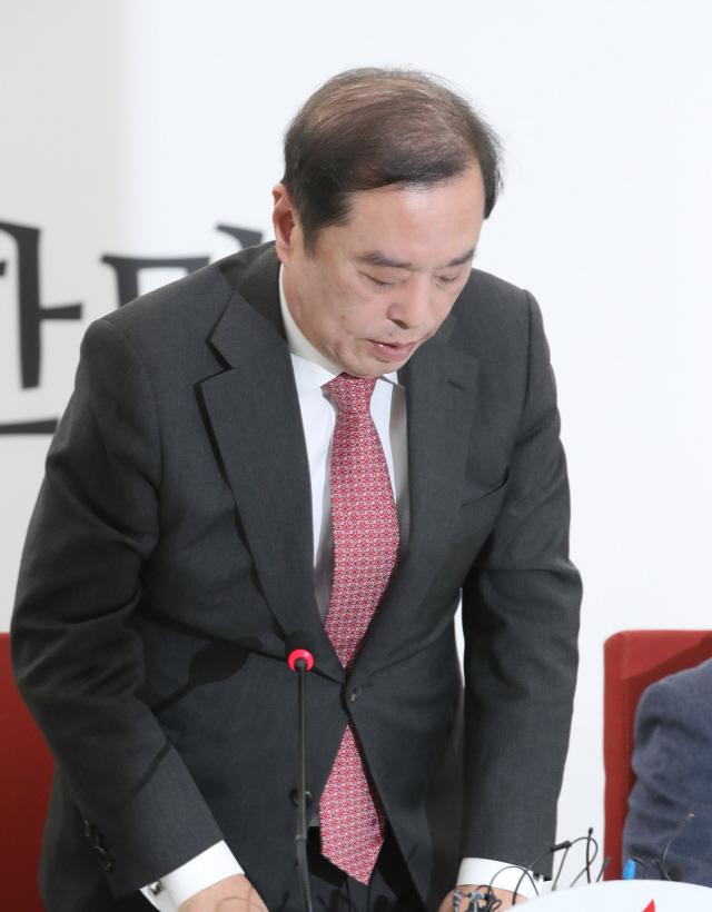 김병준, '5·18 망언' 대국민 사과…'국민 욕보이는 행위'