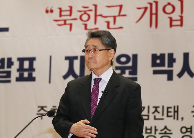"""이종명 """"5·18 北개입 검증·유공자명단 공개땐 의원직 사퇴"""""""