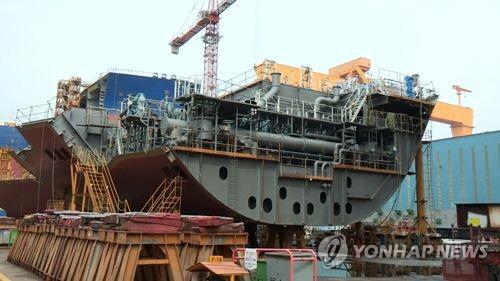 한국 조선, 1월 수주량 중국에 밀려 세계 2위…일본은 4위