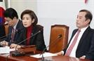 """나경원 """"윤리특위, 서영교·김정우·이수혁 함께 다뤄야"""""""