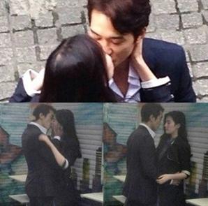 """송승헌 유역비 '키스 연기' 보니 찐~~하네! 3년 만에 결별 이유가? """"서로 바빠서"""""""