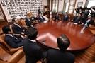 與野 원내대표, 국회 정상화 합의 불발…오후 4시 협상 재개