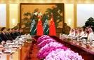살만·시진핑 회담...사우디, 中과 석화단지 합작