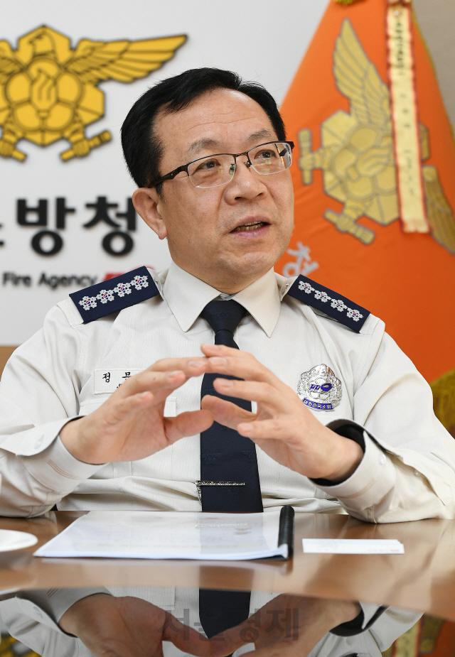 [서경이 만난 사람] 정문호 소방청장 '국민 생명달렸는데…'소방관 국가직화' 이달 국회가 마지노선'