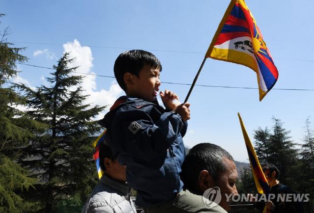 티베트 反中 봉기 60주년 기념식, 인도 망명정부서 개최