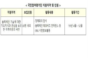 Korean government recruits blockchain evaluation corps