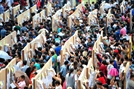 [사진] 泰 총선 사전투표 시작…군부 정권 미래는