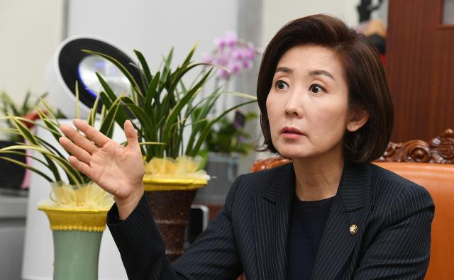 [특별인터뷰]나경원 '선거법 패스트트랙은 개악案'