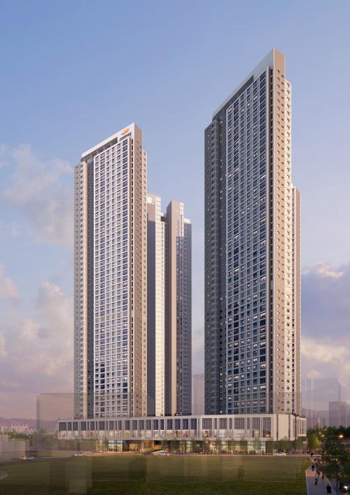 노후 주택 비율 높은 지역 새 아파트 인기 'e편한세상 일산 어반스카이' 눈길