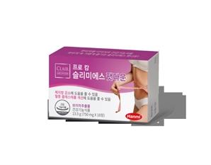 한미약품, 체중관리 건강기능식품 '프로 캄 슬리미S 팻다운' 출시