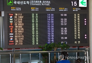 제주 육·해상 강풍·풍랑주의보 발령…항공기 배편 운항 차질 예상