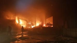 울산 폐기물 처리업체에서 화재...인명 피해 없어