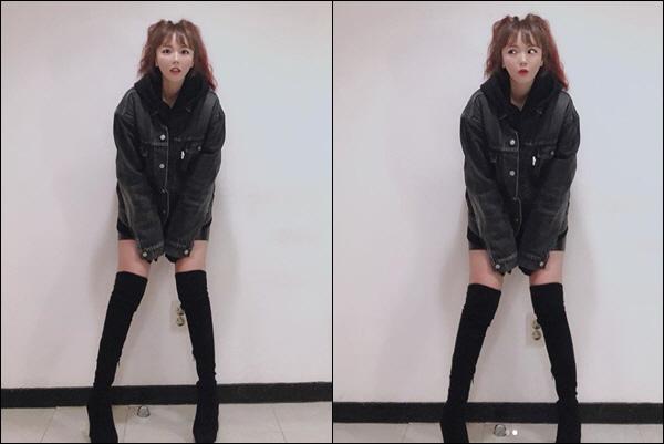 홍진영 '이 각선미 실화냐?' 귀염+섹시 하나로 모은 몽환적 자태