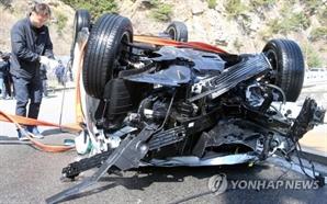강릉 10대 차량 추락사 '동네 형 ID 빌려 카셰어링 이용'추정