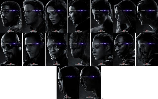 '어벤져스: 엔드게임' 히어로들 32종 캐릭터 포스터 대공개