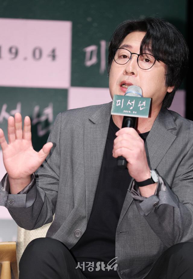 """[현장] '미성년' 김윤석, 신인감독의 패기로 """"본때 있게 보여주고 싶어"""""""