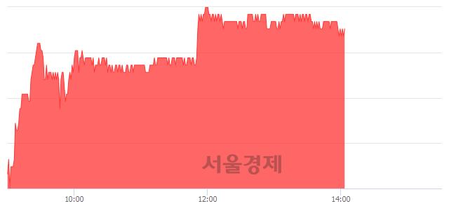 유동국제강, 3.93% 오르며 체결강도 강세 지속(265%)