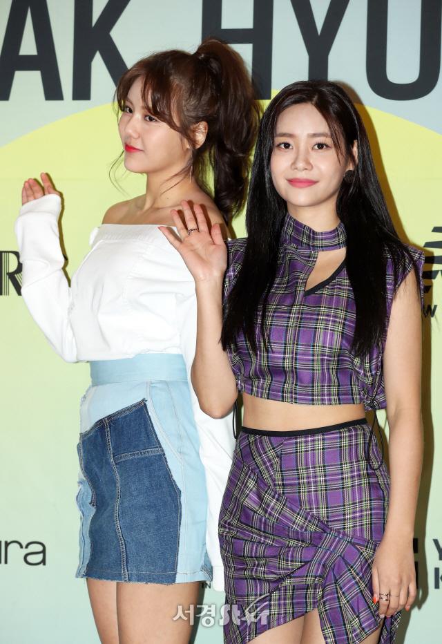 AOA 혜정-유나, 등장부터 시선강탈