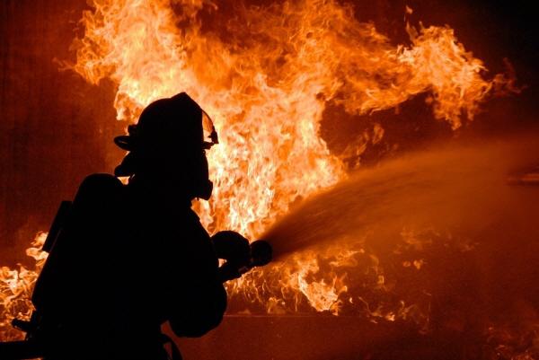 영상] 강렬한 화염 속에서도…산불에 맞선 소방관들의 사투