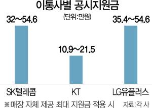 [5G 일반 개통 첫날] 5G 열기에…이통사 '공시지원금 투하' 경쟁