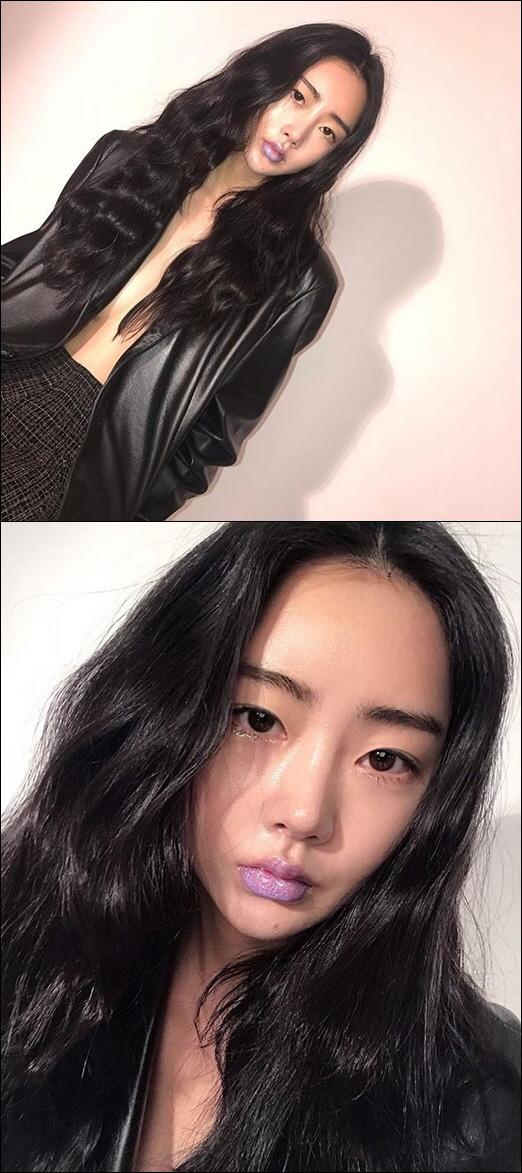 달샤벳 수빈, 가슴라인 노출 탄성 자아내는 섹시함, 재킷만 입고 '찰칵'