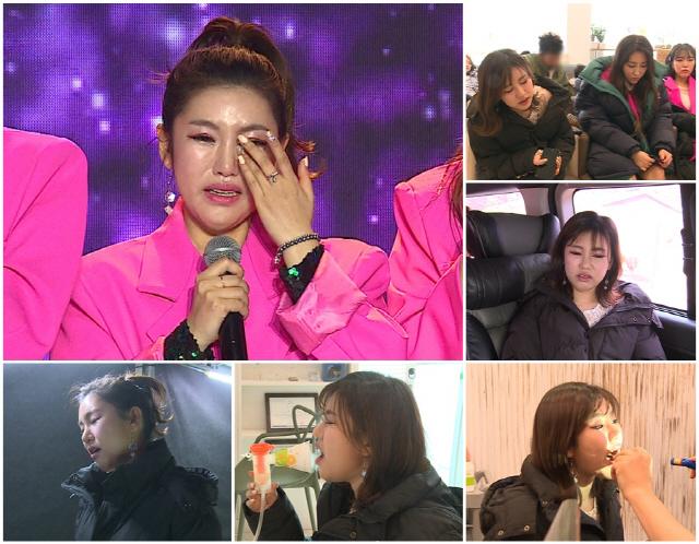 '미스트롯' 송가인, '긴급 병원 이송' 목소리가 나오지 않는 최악의 사태