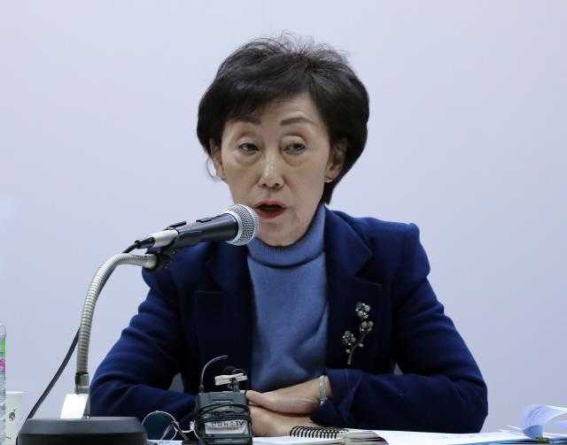 """최영애 국가인권위원장 """"헌재 낙태죄 위헌 결정, 인권 향상 위한 시작점'"""