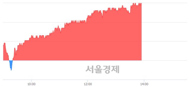 유동국제강, 3.01% 오르며 체결강도 강세 지속(201%)