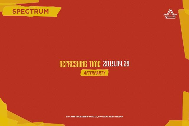 스펙트럼, 4월 29일 'Refreshing time' 컴백 확정