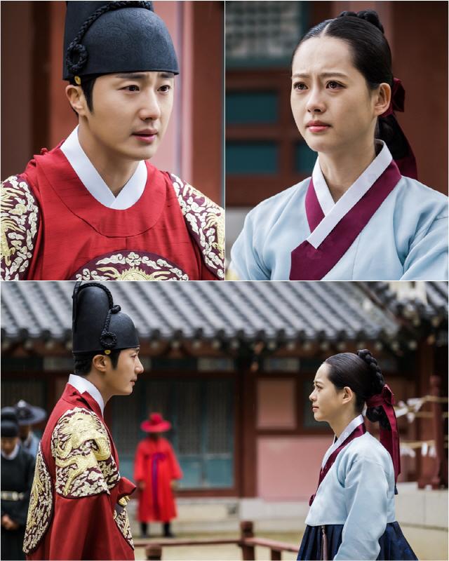 '해치' 정일우-고아라, 가슴 아릿한 눈물의 궁궐 재회