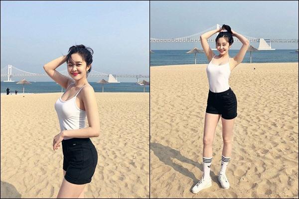 최설화, 해변가 사로잡는 S라인 몸매 '헉' 하며 돌아볼 섹시 매력 발산