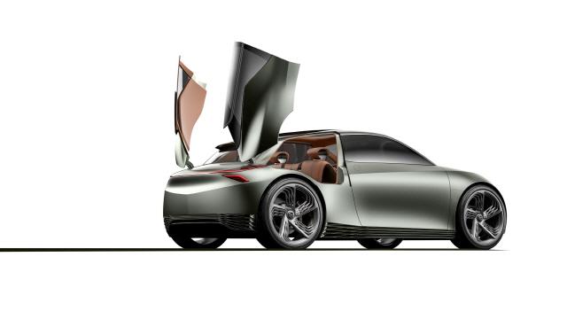 제네시스 전기차 '민트 콘셉트' 세계 최초 공개…현대차 '씨티카 지향'