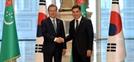 문 대통령, 투르크멘과 에너지 협력 합의