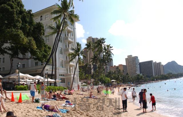 온난화에 하와이 와이키키 해변도 사라진다