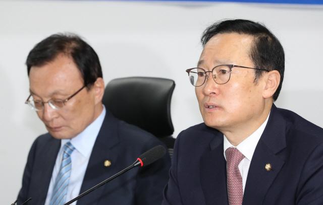 홍영표 '한국당 장외투쟁, 김학의·세월호 은폐 의도?'
