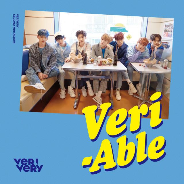 베리베리, 두 번째 미니 앨범 'VERI-ABLE (베리어블)' 오늘(24일) 발매