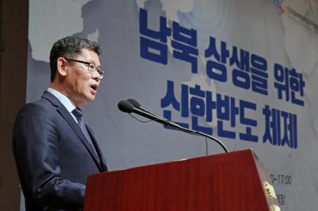 김연철 '올해, 지난해 성과 바탕으로 남북경협 결실 맺어야'