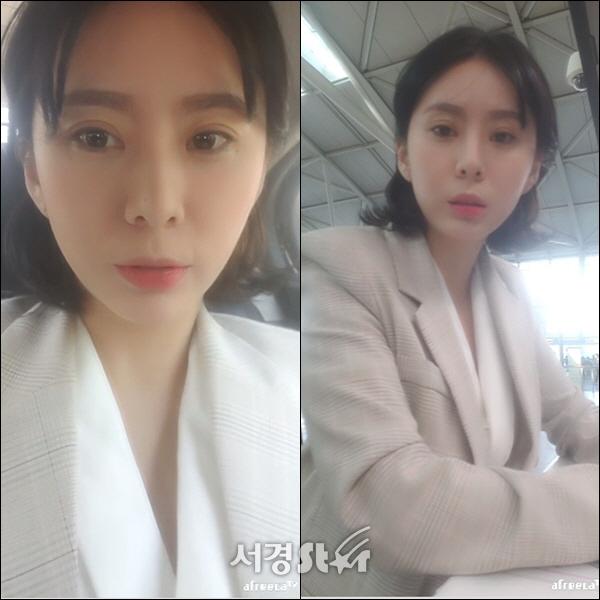 [속보] 윤지오 출국과정 인터넷 생중계 '지금까지 감사했다', 김수민 작가엔 '맞고소하겠다'