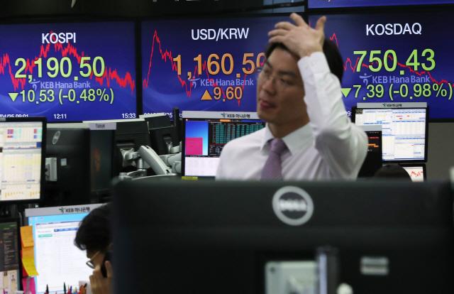 [1분기 -0.3% '성장률 쇼크'] 성장률 쇼크 직격탄...원화값 2년여만에 최저