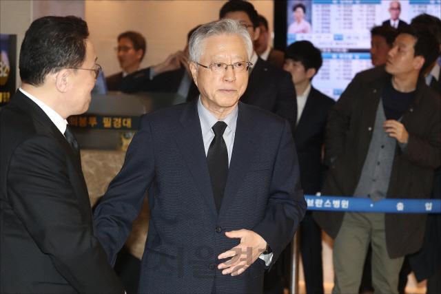 '김성태 의원 딸 등 KT 부정채용' 이석채 전 KT회장 구속영장 청구