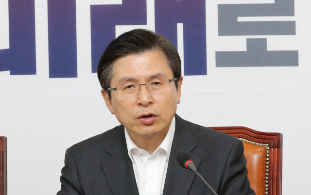 """황교안 """"집회·범국민 서명운동 벌일 것"""""""