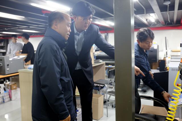 조봉환 소진공 이사장, 디지털인쇄업계 만나 애로 청취