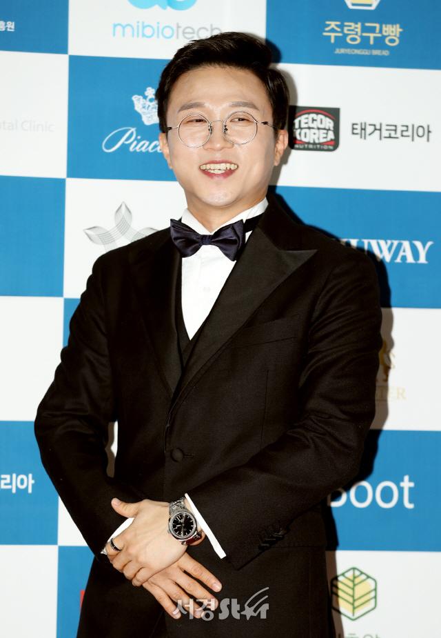 박성광, 해 맑은 미소 가득 (대한민국 예술문화인대상)