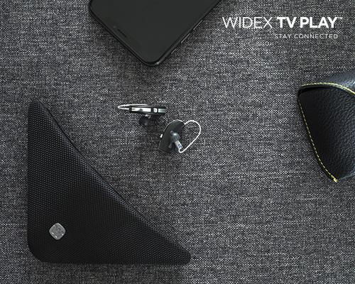와이덱스보청기, TV와 보청기 무선연결 악세서리 'TV PLAY' 출시