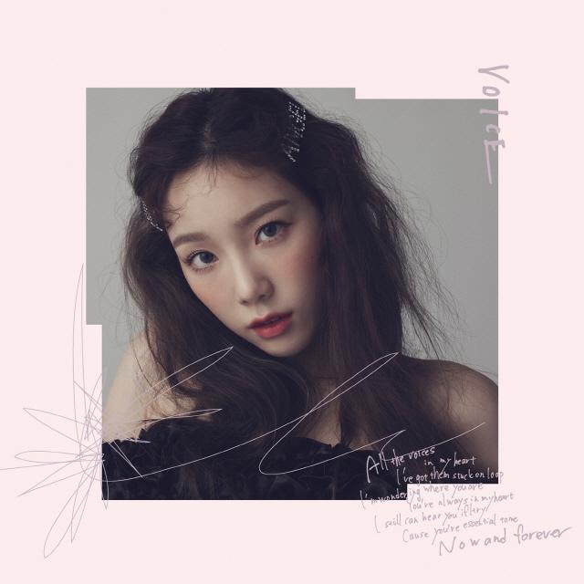 '믿고 듣는 보컬퀸' 태연, 日 첫 미니앨범 'VOICE' 13일 음원 선공개