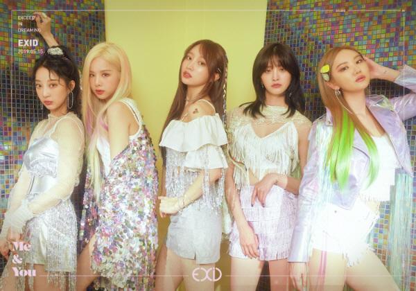 EXID, 'ME&YOU' 첫 번째 단체 티저 이미지 공개하며 '정상 걸그룹' 컴백 예고